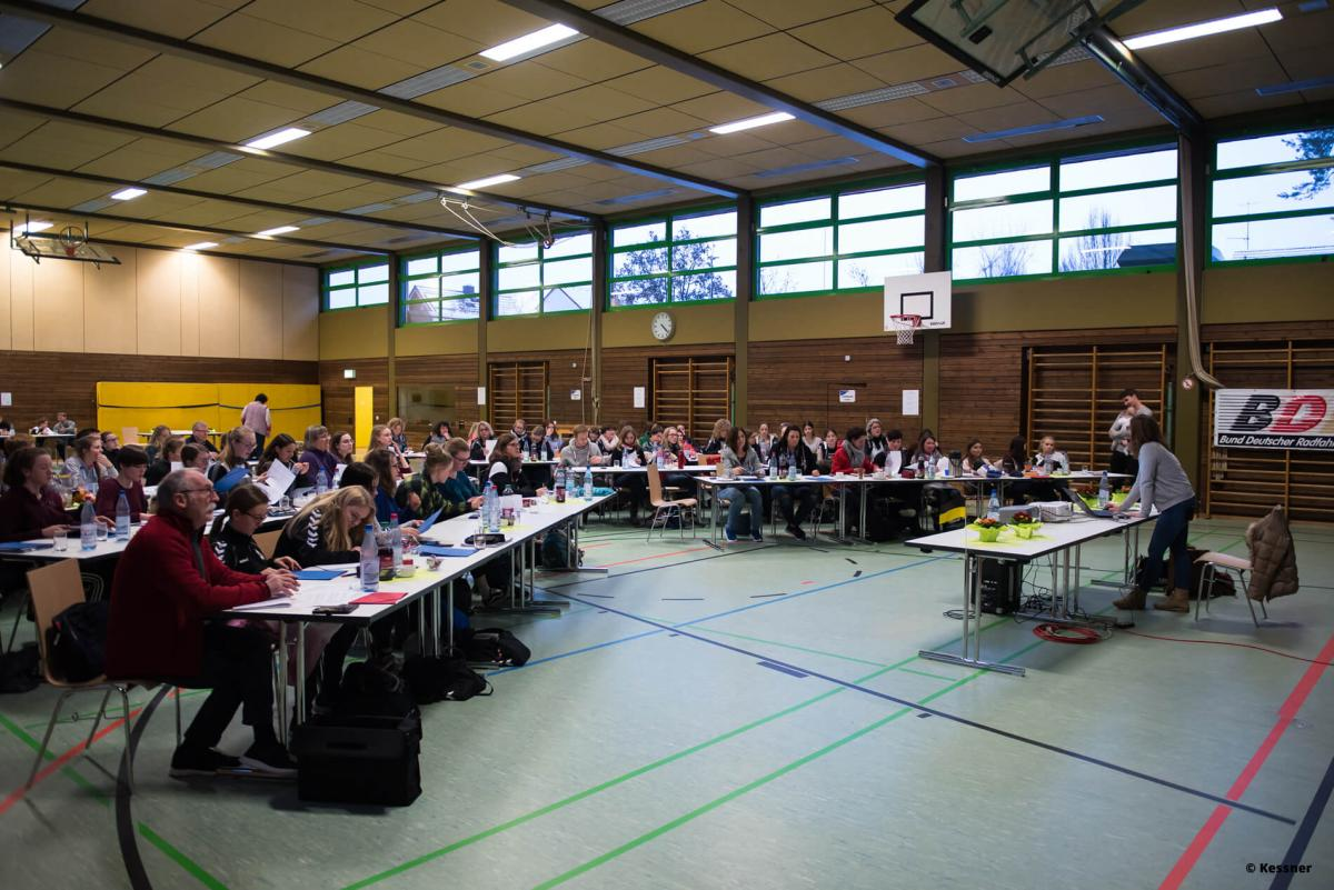 Einrad Freeystyle Jury-Schulung Januar 2019 Schorndorf  - Foto © Kessner