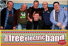 The Free Electric Band am 14.10.2017