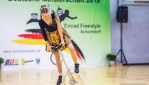 DM2019 Einrad-Freestyle - Damen-Expert - Sonja Rath - Thema Schlager - 3. Platz