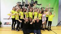 DM2019 TSV-Dudenhofen Einrad-Freestyle Standardskill-Team