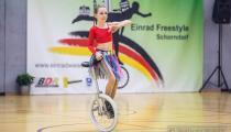 DM2019 Einrad-Freestyle - AK Einzelkür U13 - Lara Holm - Thema Afrika - 8. Platz