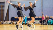 DM2019 Einrad-Freestyle - AK Paarkür 20+ - Meike Rath & Sonja Rath - Thema Gladiator - 3. Platz