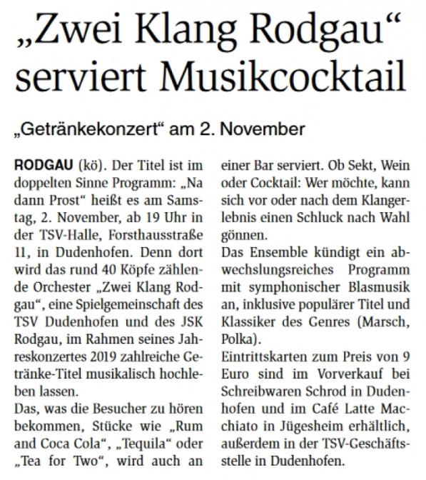 Dreieichzeitung 07.11.2019
