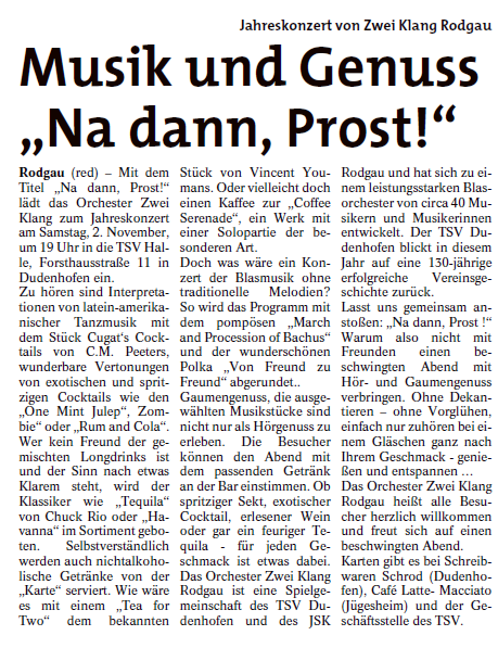 Rodgau Post 17.10.2019