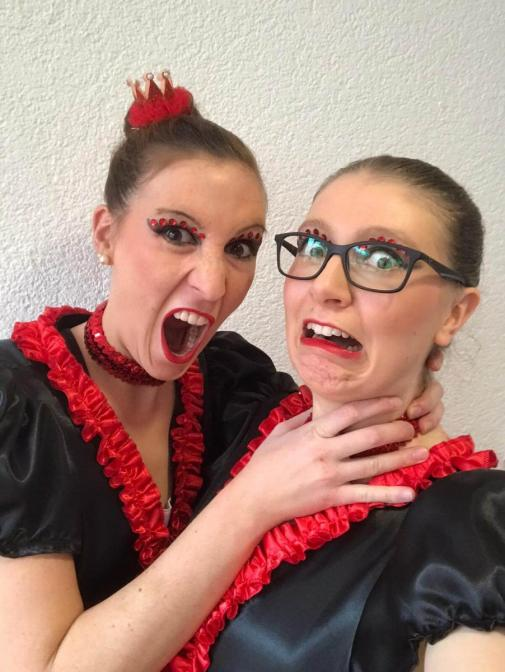 Qualifikation Einrad Weltmeisterschaft 2020 - Inga und Karina