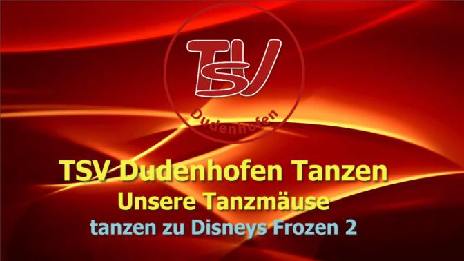 TSV Dudenhofen - Tanzen - Die wilden Tanzmäuse