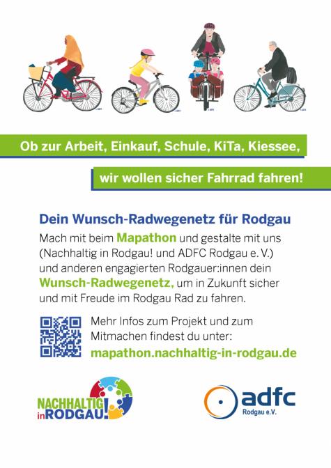Dein Wunsch-Radwegenetz für Rodgau